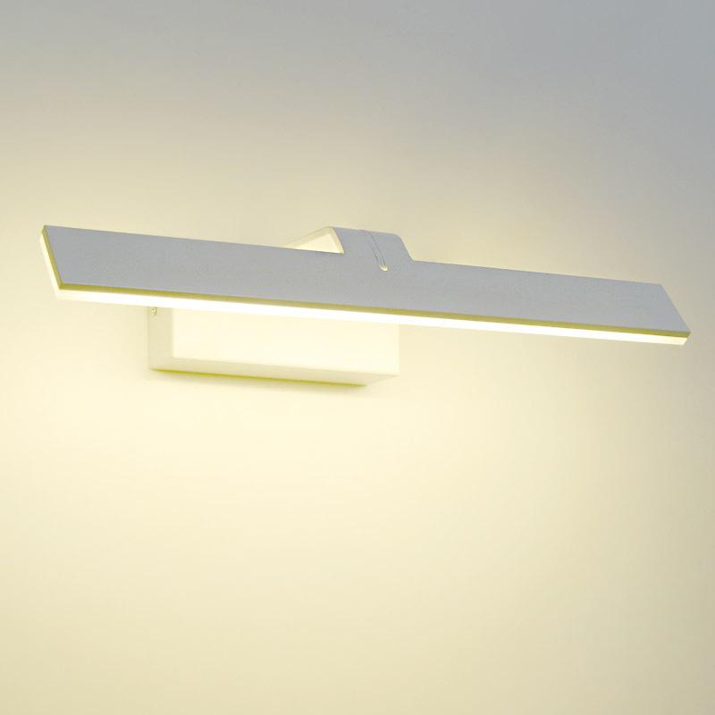 LG8812 led铝材壁灯 现代简约铁艺卫生间镜前灯 一件代发镜子灯
