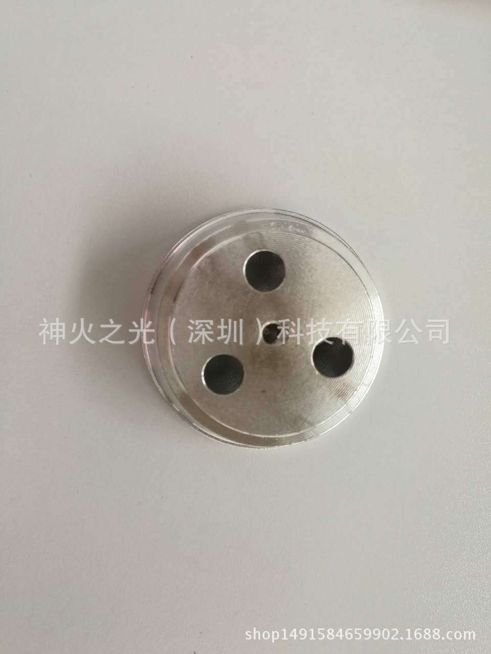 T6 反光杯(51*18*7)手电筒  CNC 加工 投光灯外壳 铝杯 灯杯