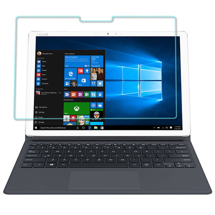 华硕灵焕3尊享版钢化膜T305C玻璃膜二合一平板电脑12.6英寸屏幕膜