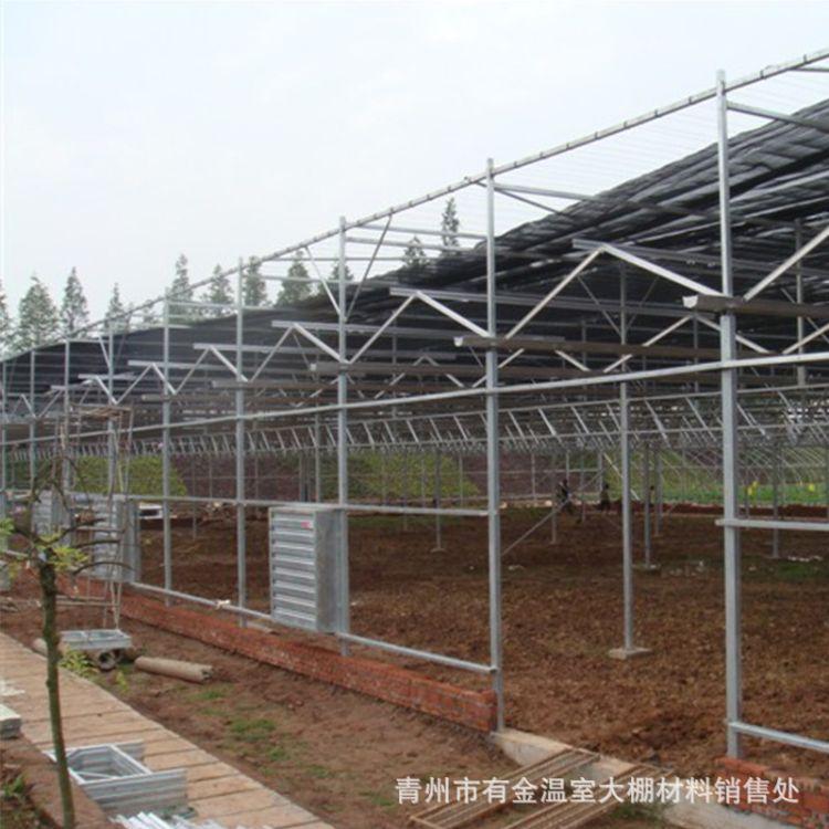 温室大棚骨架 农用花卉养殖简易温室大棚 厂家直销大棚骨架配件