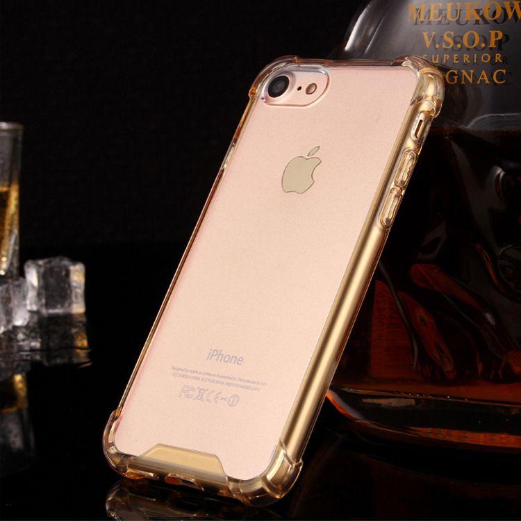 苹果8手机壳iphone7plus透明亚克力保护套防摔气囊硬壳二合一