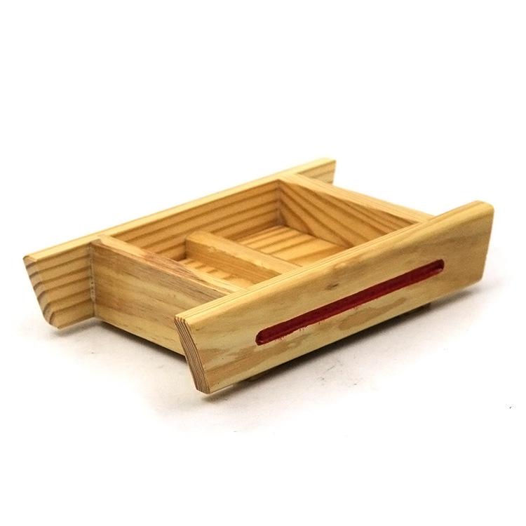 老豆腐盒木制模具diy厨房小工具自制家庭做豆腐原木模盒