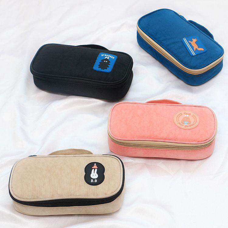 厂家定制批发文具笔袋 旅行收纳化妆包旅游出差防水洗漱包