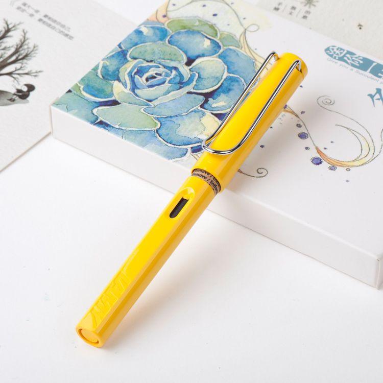 学生钢笔批发礼品笔定制 可换墨囊和吸墨两用书写签字