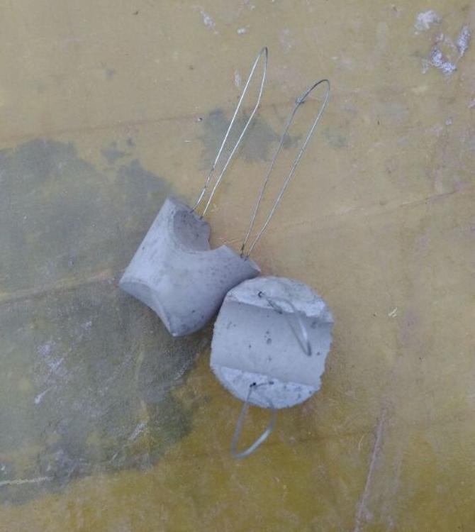 城石    厂家钢筋保护层高强桥梁隐形水泥垫块30-35mm