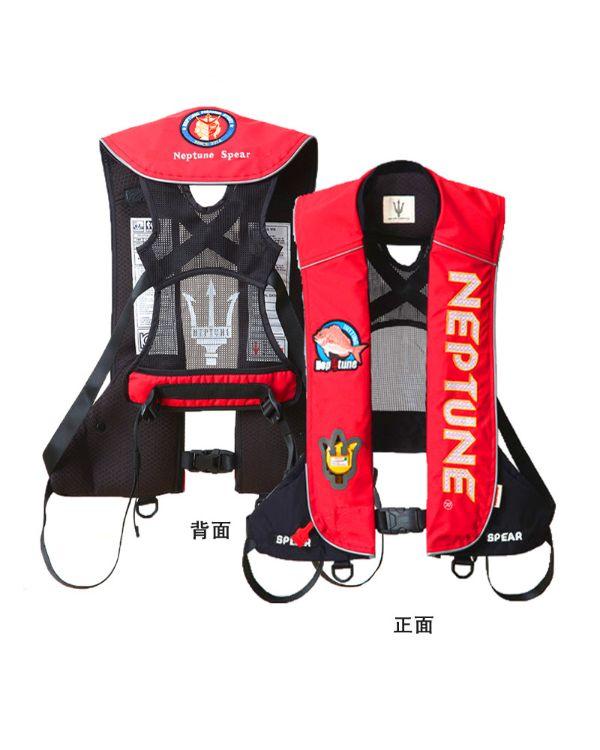 成人手动自动充气救生衣 便携式浮力衣 钓鱼马甲背心 带夜光功能