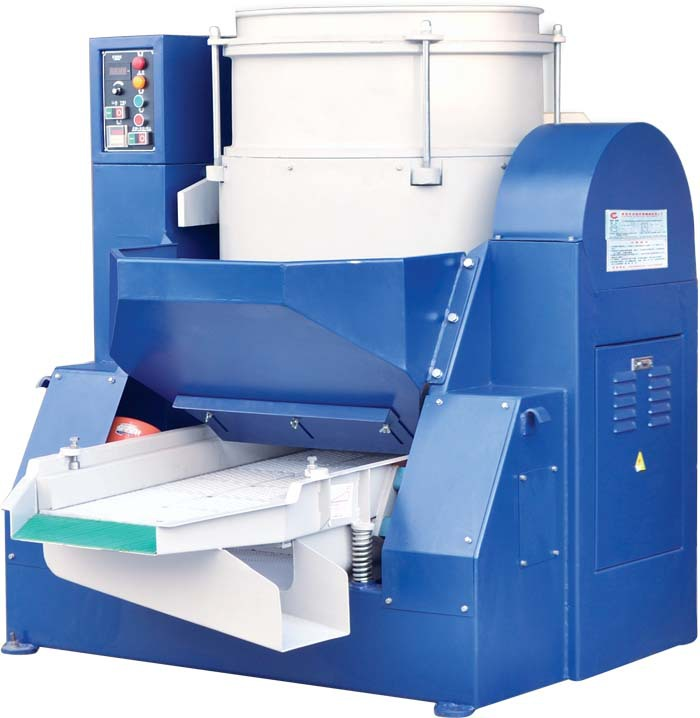 深圳涡流光饰机 带筛选分离 研磨筛选一体涡流研磨机 厂家非标产