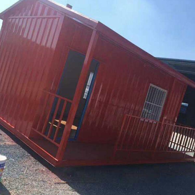 大波浪板集装箱外墙烤漆板大波浪集装箱活动房可批发大量生产