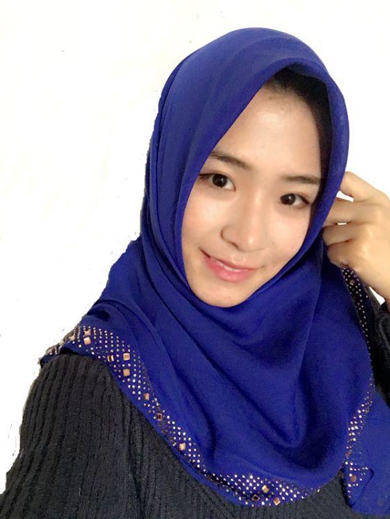 厂家直销穆斯林纱巾 巴厘纱烫钻异形方巾盖头批发多色
