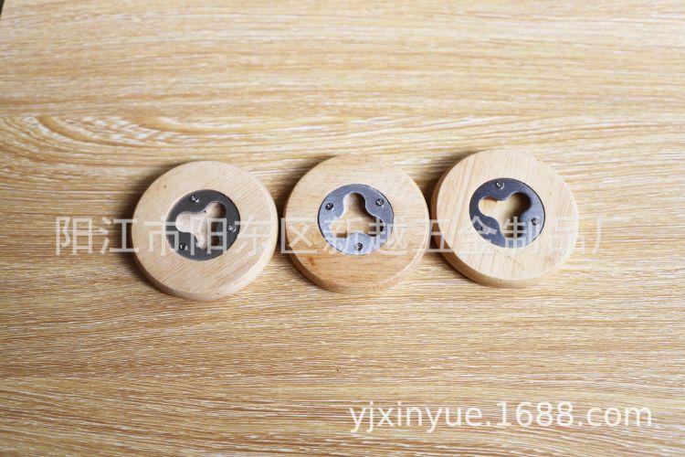 圆形木制啤酒开瓶器A19005