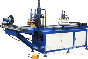 PVC管打孔机 方管冲孔机 圆管开孔机伏特机械设备