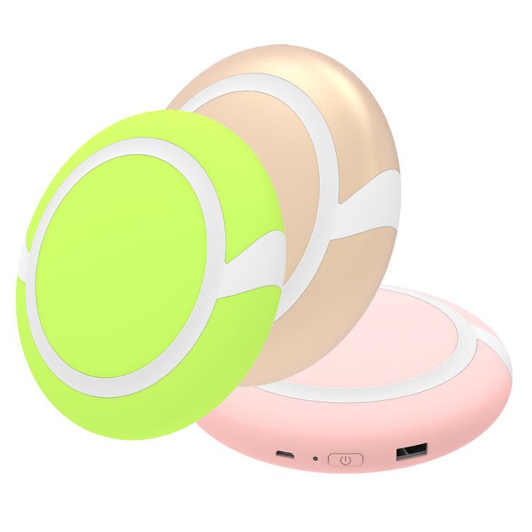 创意时尚USB充电暖手宝手机充电宝活动赠品 多功能暖宫宝促销礼品