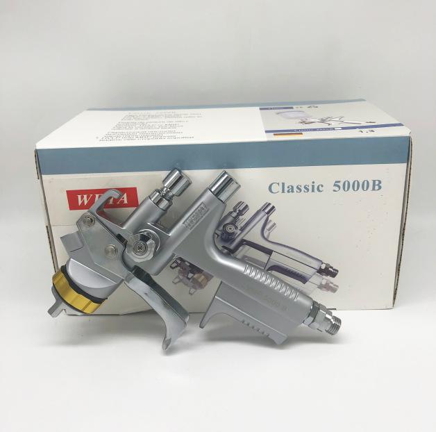 WETA汽车油漆喷枪 1.3mm上壶汽车钣金家具环保喷涂气动工具5000B