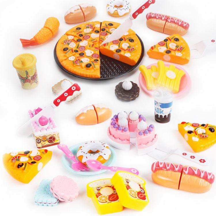 儿童过家家厨房玩具批发价格 小孩煮饭厨具玩具套装批发零售