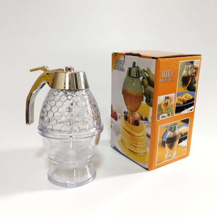 蜂蜜糖浆分发器 糖浆挤压果汁分配器 调料罐 蜂蜜罐 分发壶