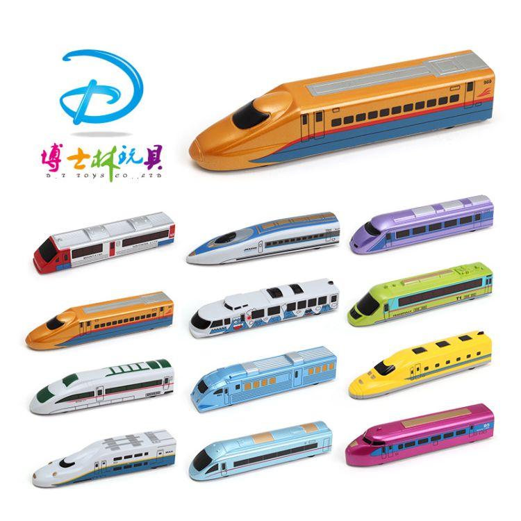 新品 Q版儿童卡通回力高铁火车批发零售