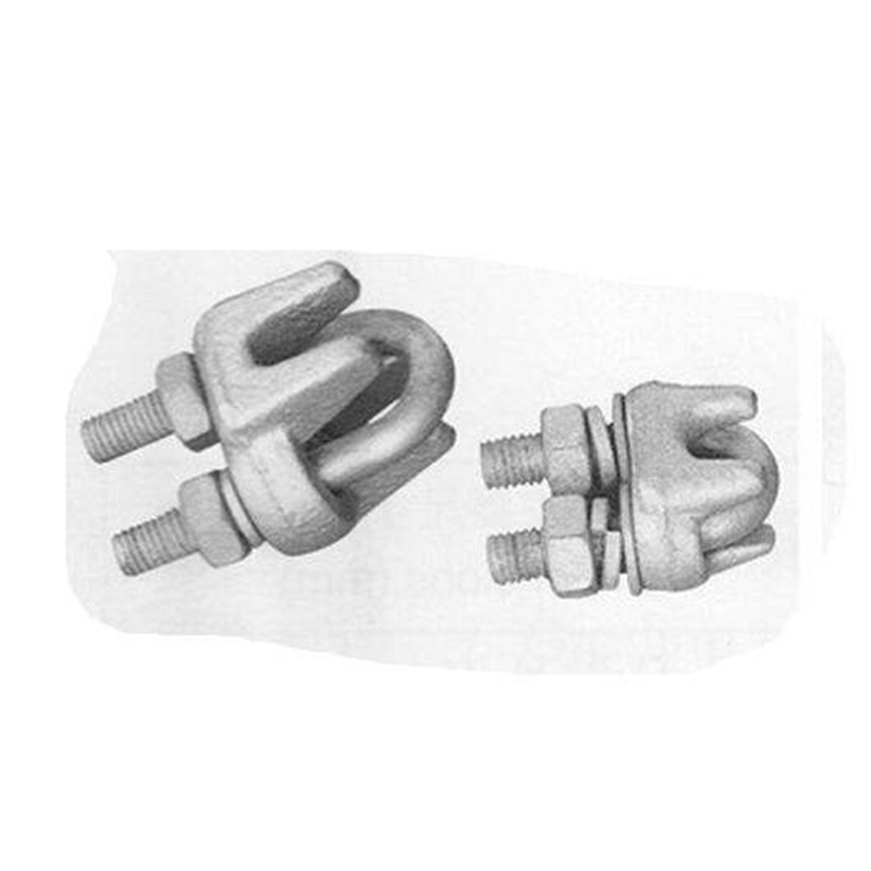 生产供应钢绞线卡头 U型卡子 u型卡子 钢绞线卡子 钢丝绳卡头