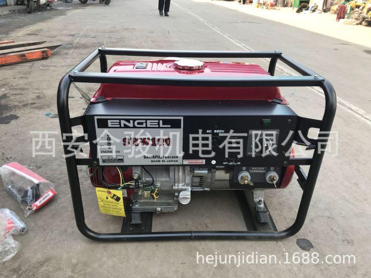 本田SHW190发电电焊一体机 日本泽藤本田SAWAFUJI发电电焊机 现货