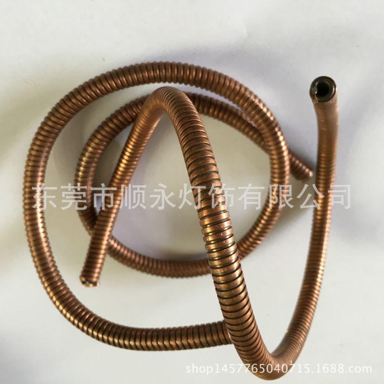 精品推荐不锈钢金属软管 台灯波纹软管 304LED灯软管USB金属软管