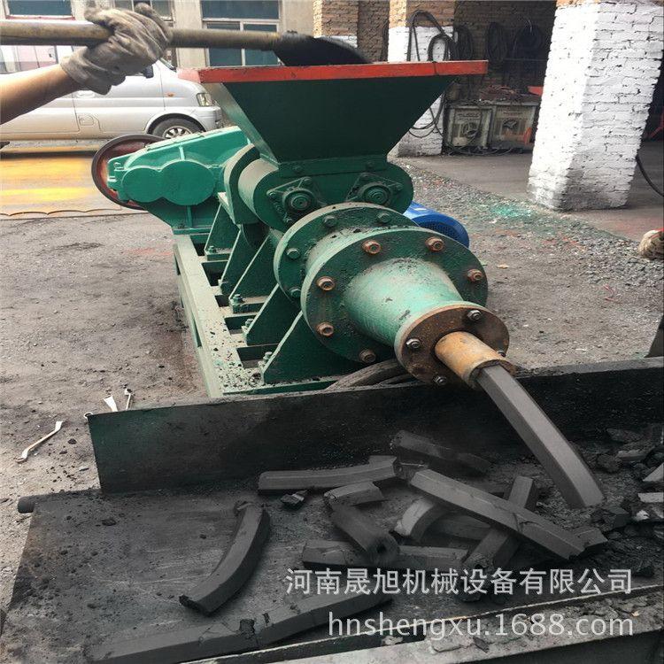 晟旭批量供应兰炭成型设备实芯制棒机 菱形节能煤棒成型机