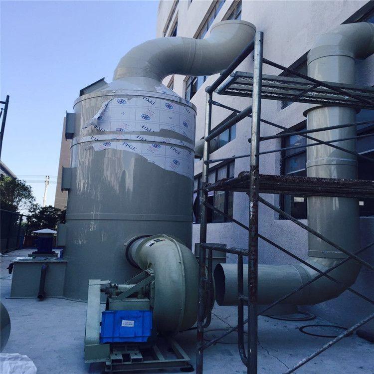 瑞安出售工业有机废气处理设备酸雾喷淋净化塔喷淋塔化工废气处理