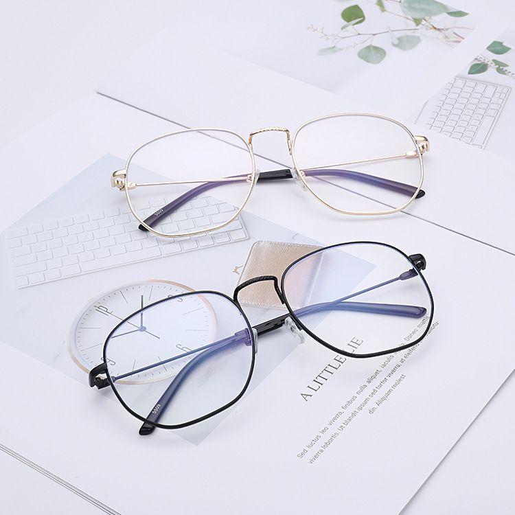 2018新款平光镜 防蓝光护目眼镜 低头族框架电脑眼镜厂家直销