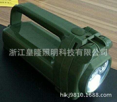 IW5510班用强光搜索灯 LED多功能磁力探照灯  LED手摇充电灯 应急