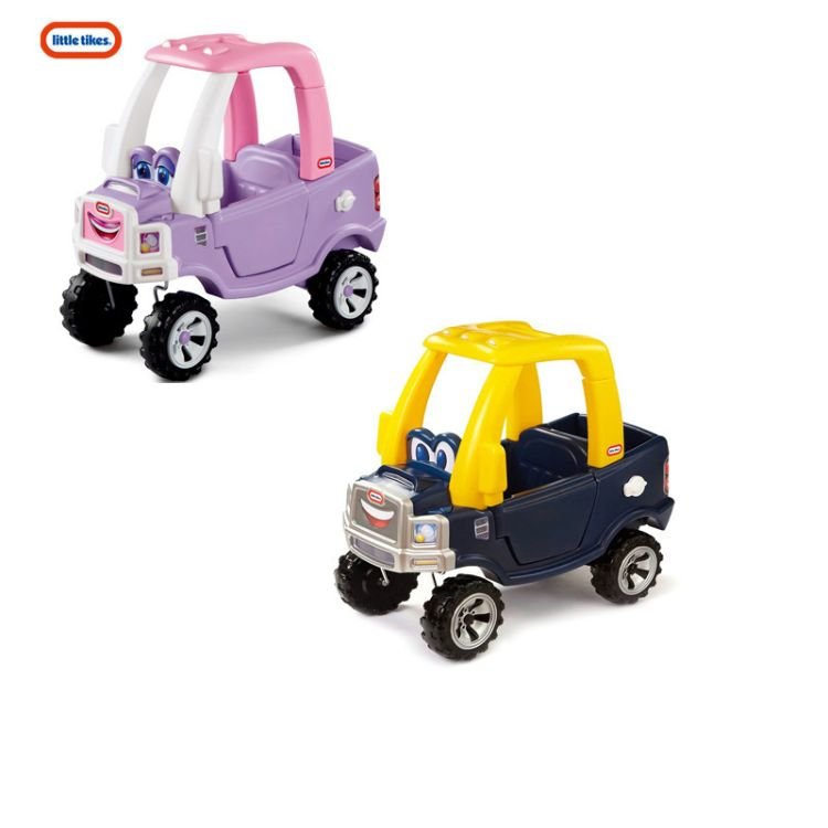 美国进口LittleTikes 小泰克儿童小房车脚踏车公主舒适卡车学步车