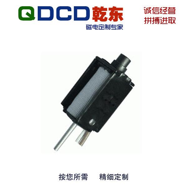 厂家直销 QDU0419S 圆管框架推拉保持直流电磁铁 可非标定制