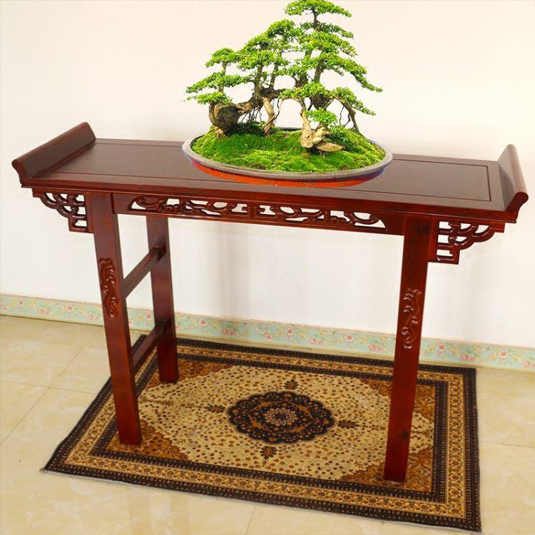 条案中式仿古供桌实木案桌条几香案玄关案神供台古琴桌禅意国学桌