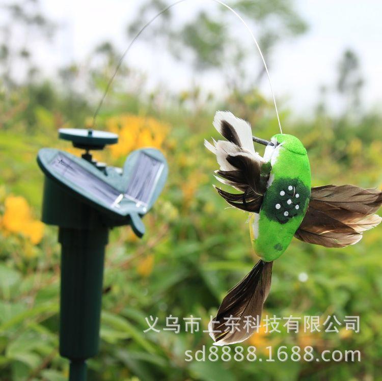 新款太阳能蜂鸟蝴蝶婚礼园艺别墅户外布置义乌旅游小商品厂家直销