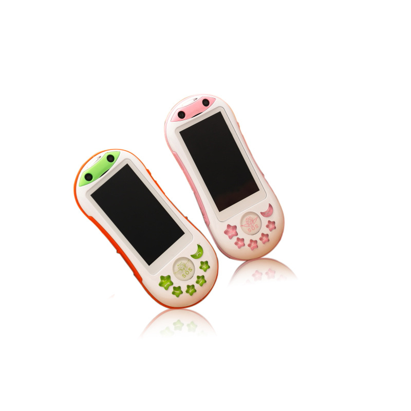 儿童智能迷你小手机学生时尚新款电信版定位SOS求救儿童老人手机
