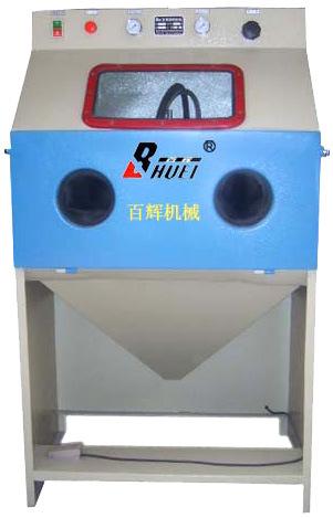 喷砂机 BH-PS9060A 百辉手动普压式喷砂机小型喷砂设备 厂家直销