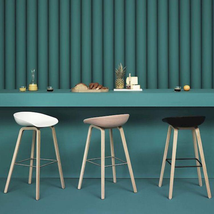 吧椅实木酒吧凳子创意吧台椅子北欧现代简约高脚凳子咖啡厅高脚椅