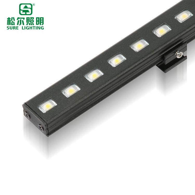 松尔 LED线条灯12W灯条户外防水内外控亮化灯 建筑桥梁城市亮化灯