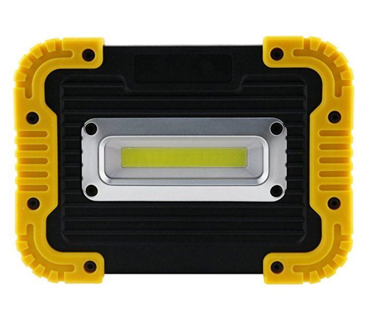 新款AMAZON热销10W COB泛光灯 USB充电手提帐篷灯应急工作灯