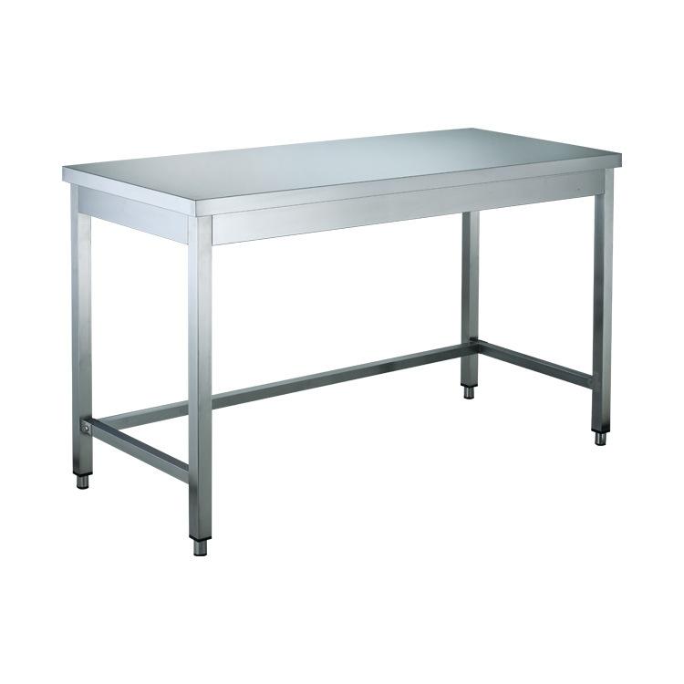 不锈钢工作台 单层双层201/304厨房案板操作台组装式打包工作台GD ASIAN