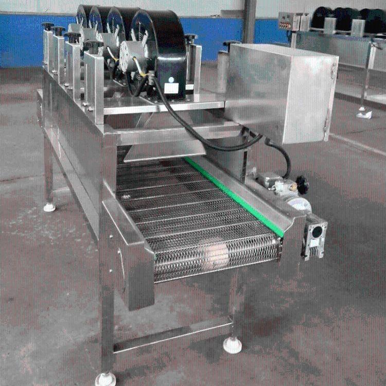 果蔬产品快速沥水设备 自动化脱水翻转风干流水线 果蔬深加工机器