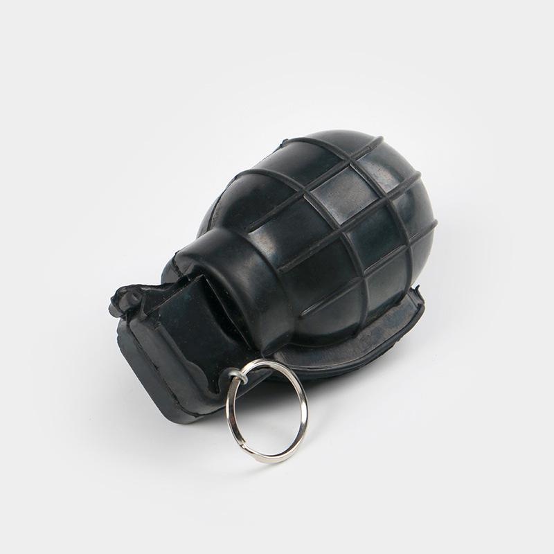 模拟橡胶训练手雷模型 影视道具模拟手榴弹 训练器材82-2手雷