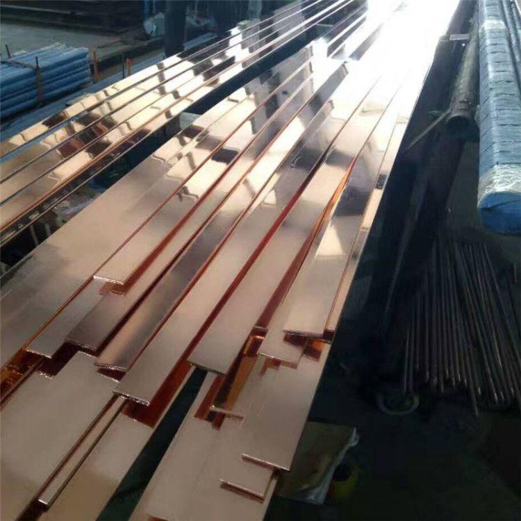 筑益专业生产铜包钢接地线 水平接地线 镀铜扁钢 垂直接地极规格全