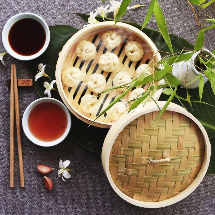 竹制蒸笼 手工楠竹大小商用竹木蒸笼加高加深蒸格蒸馒头包子定制