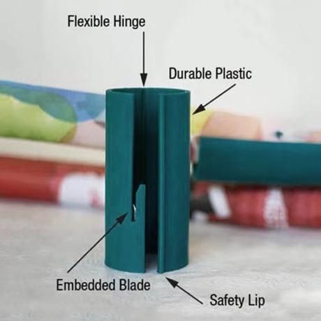 Wrapping Paper Cutter跨境爆款包装礼品裁纸器圣诞节迷你裁纸刀