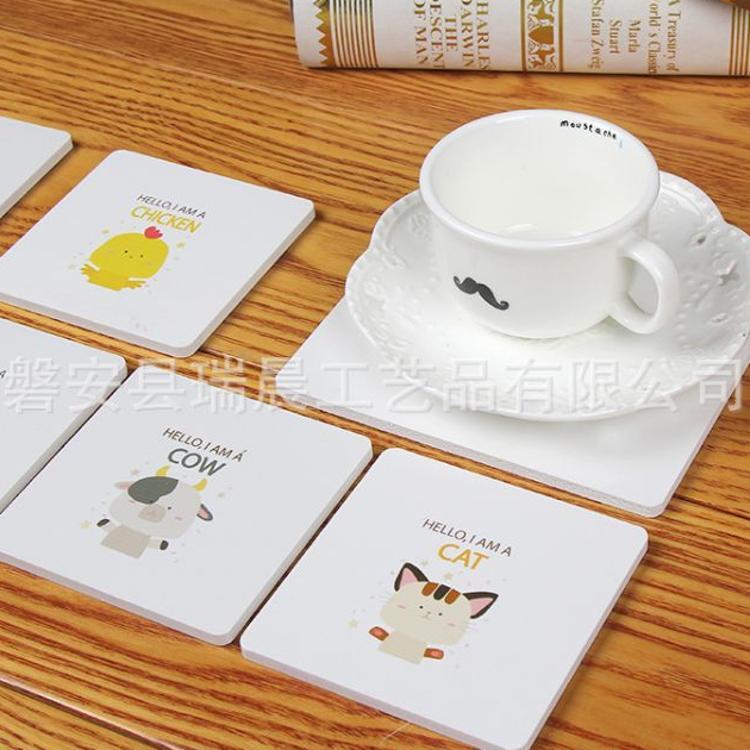 木塑板卡通隔热垫居家防滑防烫垫子锅垫创意可爱碗垫杯垫