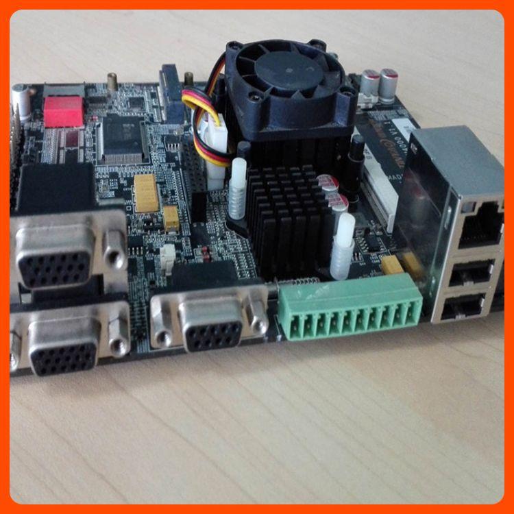 现货批发双核D525用于视频监控2*USB工控工业主板