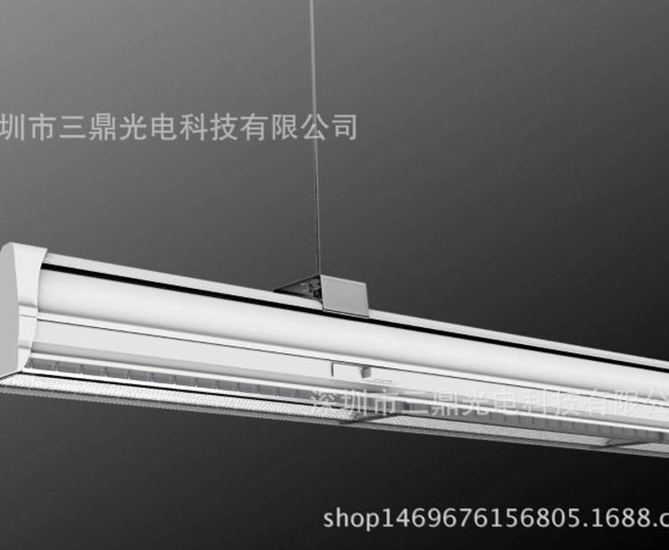 LS6870轨道线槽灯外壳套件 轨道透镜无缝拼接线条灯外壳套件 线性