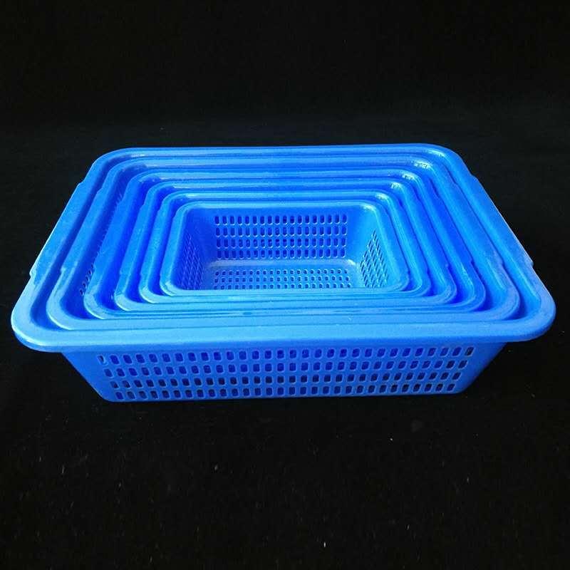 厂家大量批发 塑料筐 长方形收纳文件医用筐 加厚饭店食堂洗菜筐