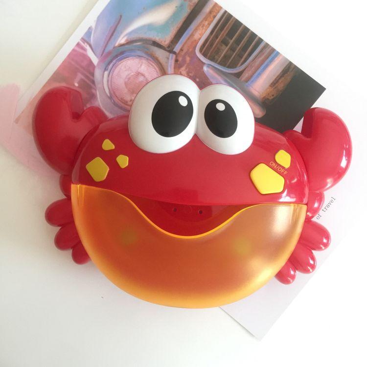 抖音泡泡螃蟹 韩国小天才泡泡螃蟹 洗澡沐浴泡泡玩耍伴侣爆款