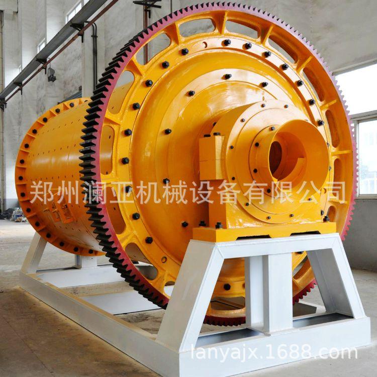 厂家供应 大型工业球磨机 水泥球磨机 溢流型球磨机 超细球磨机