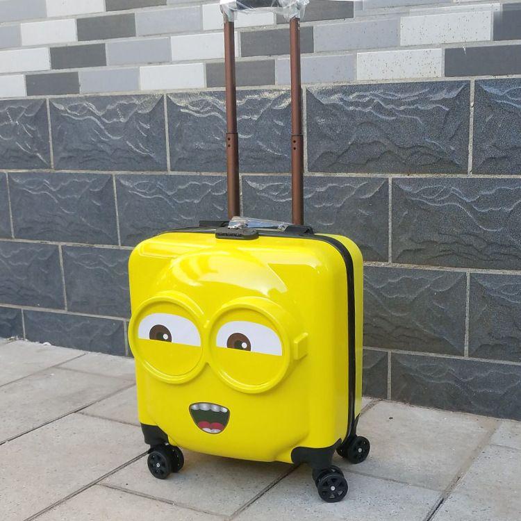卡通3D儿童拉杆箱  礼品箱定制logo  行李箱  可爱旅行登机密码箱