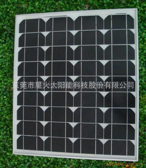 60瓦18V单晶硅太阳能电池板 直充12伏蓄电池太阳能板